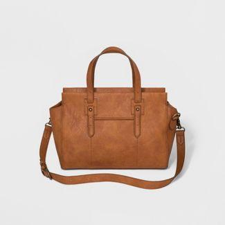 Carter Satchel Handbag - Universal Thread™ Cognac