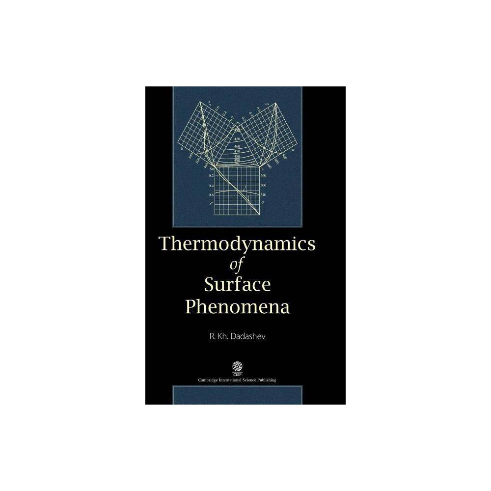 Thermodynamics of Surface Phenomena - by Raykom Kh Dadashev (Hardcover)