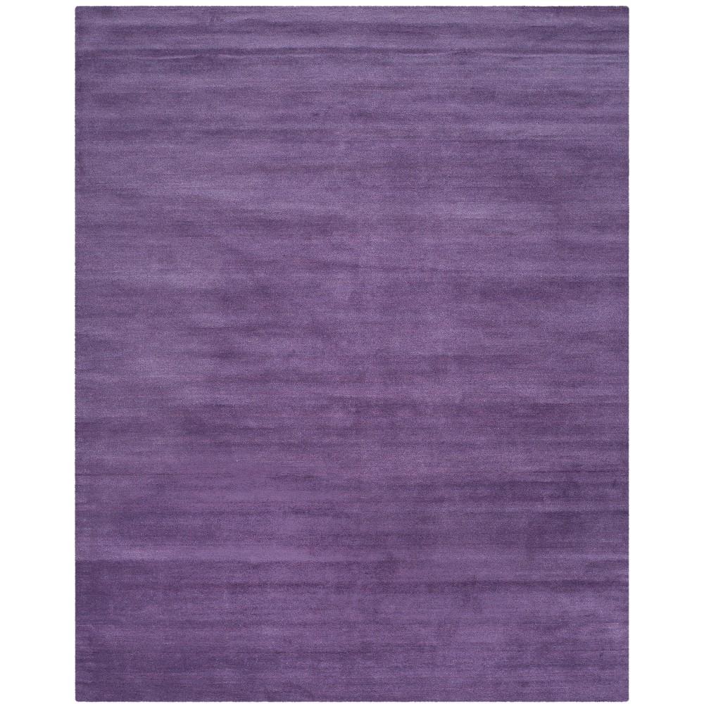 8'X10' Solid Tufted Area Rug Purple - Safavieh