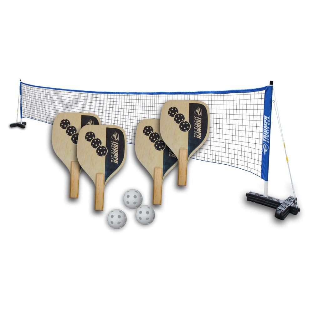 Triumph Sports Pickleball 4 Player Recreational Set