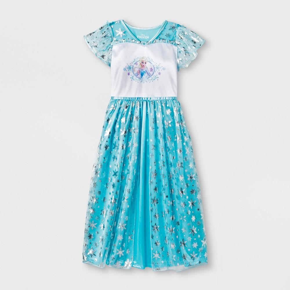 Girls' Frozen Nightgown - Blue 8
