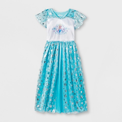 Girls' Frozen Nightgown - Blue - image 1 of 1