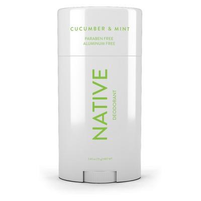 Native Cucumber & Mint Deodorant - 2.65oz