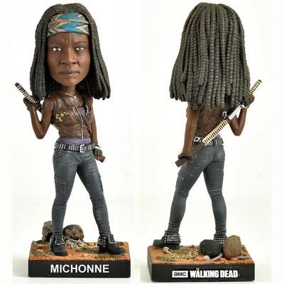 "Royal Bobbles The Walking Dead 8"" Polyresin Bobblehead, Michonne"