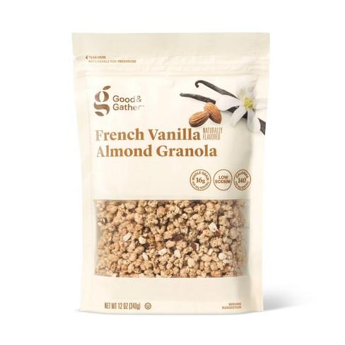 French Vanilla Almond Granola - 12oz - Good & Gather™ - image 1 of 2