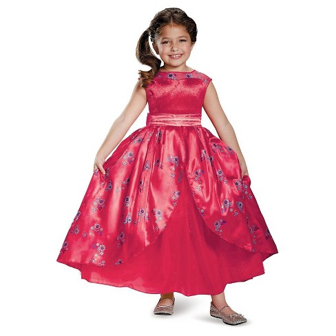 Kids' Elena of Avalor Ball Gown Deluxe Costume - image 1 of 1