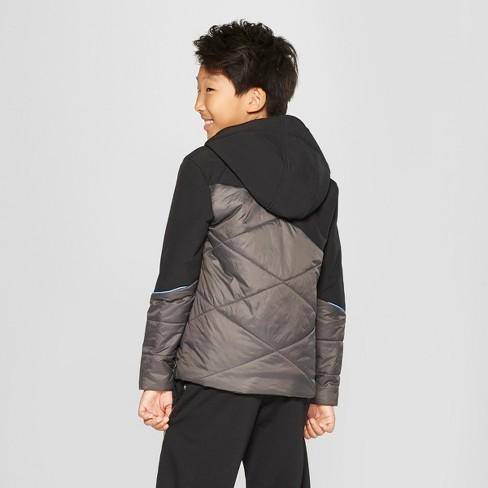 d0adc54e13ad Boys  Hybrid Softshell Jacket - C9 Champion® Gray   Target