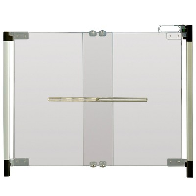 Qdos Crystal Baby Safety Gate - Hardware Mount