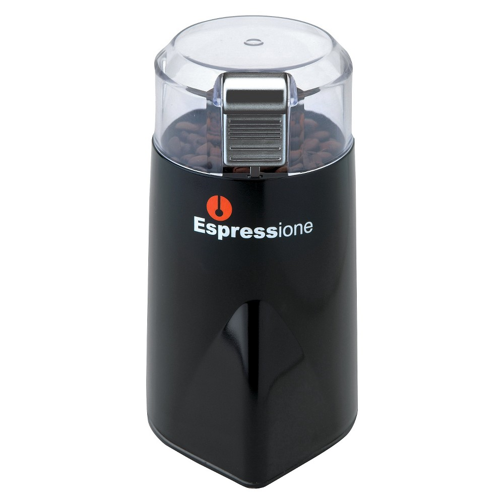 Espressione Rapid Touch Grinder – Black with Silver, Black And Silver 13763881