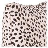 "Pink/Black Cheetah Throw Pillow (20""x20"") - image 3 of 4"