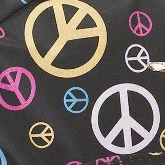 Black/Pink Peace