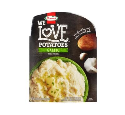 Hormel We Love Prepared Garlic Mashed Potatoes - 20oz