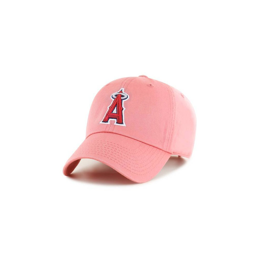 Mlb Los Angeles Angels Men 39 S Clean Up Pastel Hat