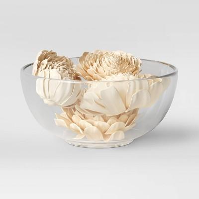 18pc Decorative Shola Flower Filler White - Threshold™
