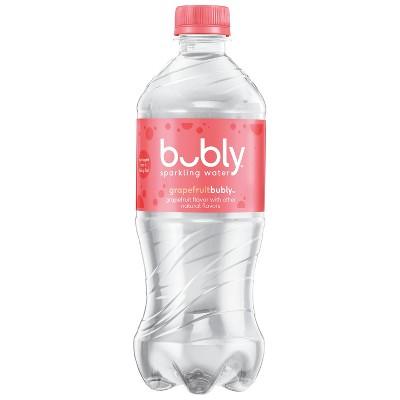 bubly Grapefruit Enhanced Water - 20 fl oz Bottle