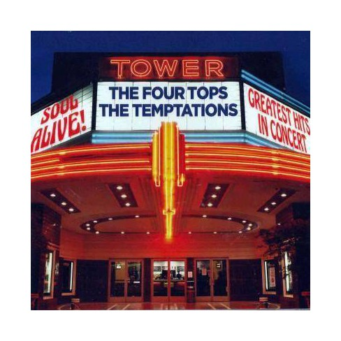 Four Tops (The) - Soul Alive! Greatest Hits In Concert (CD) - image 1 of 1