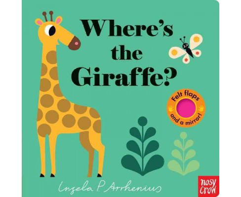 Where's the Giraffe? -  (Hardcover) - image 1 of 1