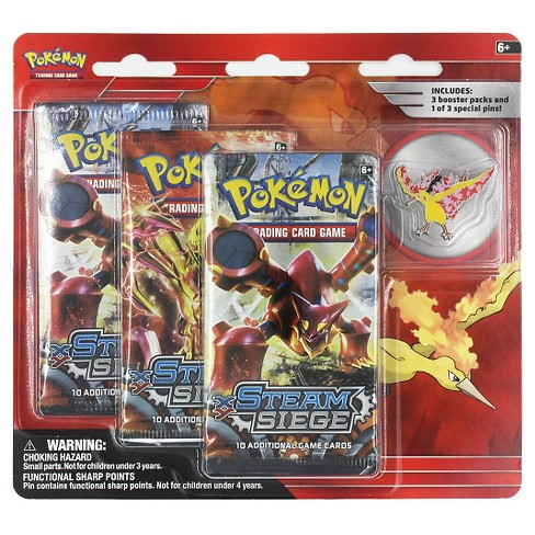 2016 Pokemon 3 Pk Pin Bl-Moltres Collectible Trading Cards - image 1 of 1