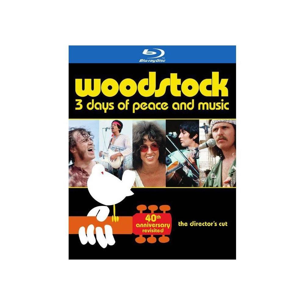 Woodstock 3 Days Of Peace Music Blu Ray 2014