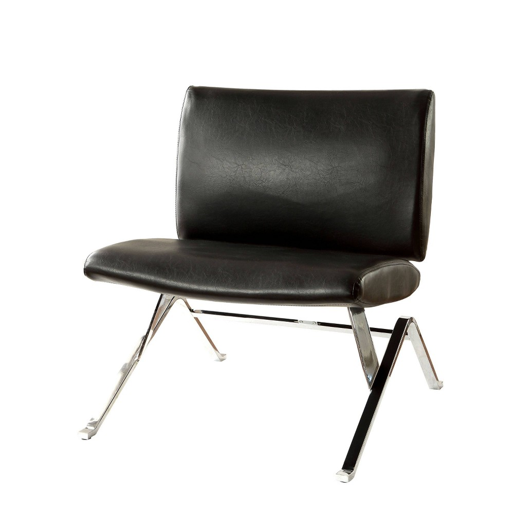 Cheap Casey Leather Accent Chair  - miBasics