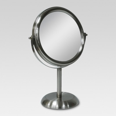 Bathroom Mirror Brushed Nickel - Threshold™