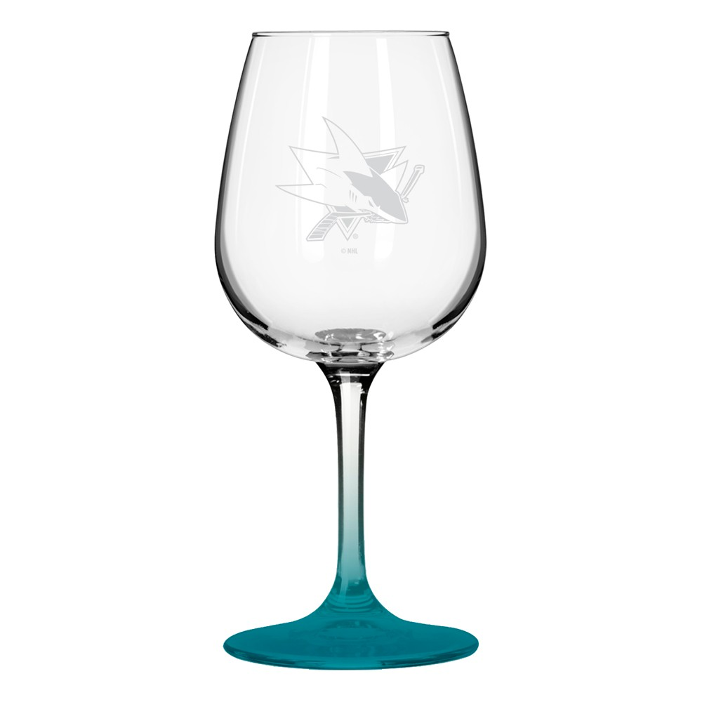 NHL San Jose Sharks Boxed Wine Glass