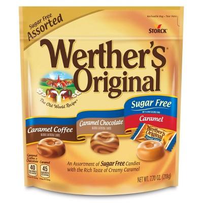 Werther's Original Sugar Free Assorted Flavors - 7.7oz