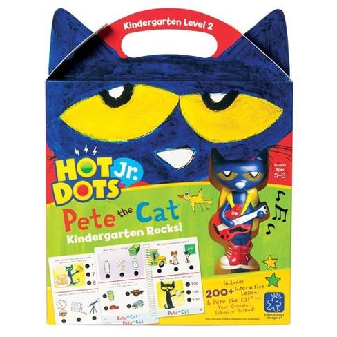 Educational Insights Hot Dots Jr. Pete the Cat I Love Kindergarten! Set - image 1 of 4