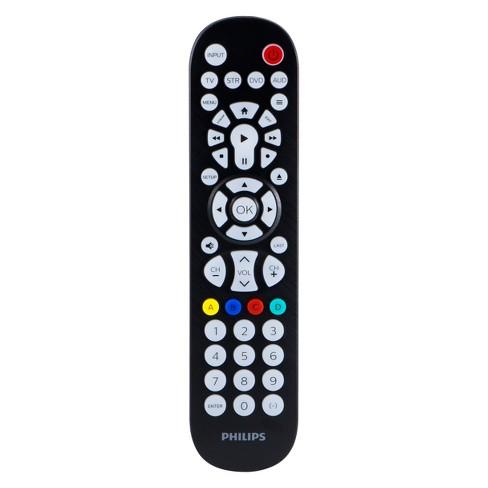 Philips 4 Device Elite Backlit Universal Remote Control - Brushed Black - image 1 of 4
