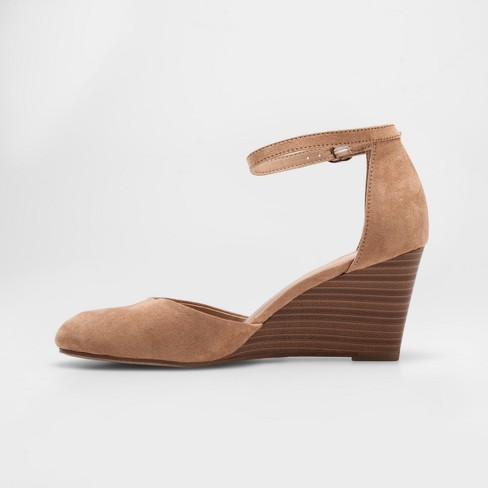 6d76c5067 Women's Wendi Closed Toe Wedge Pumps - A New Day™ : Target
