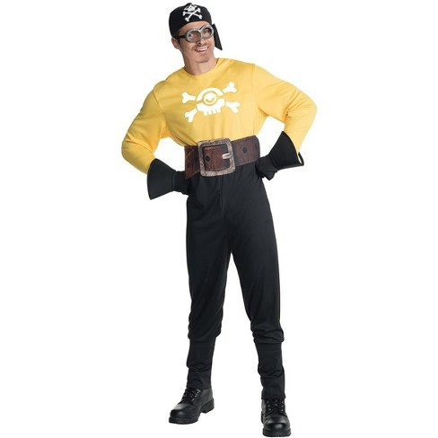 Minion Movie Pirate Adult Costume - image 1 of 1