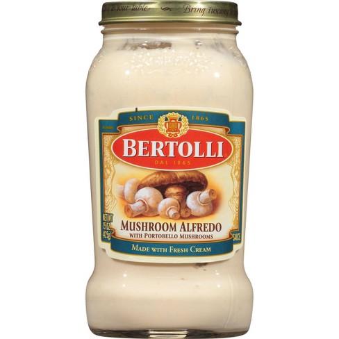 Bertolli Mushroom Alfredo Pasta Sauce - 15oz - image 1 of 4