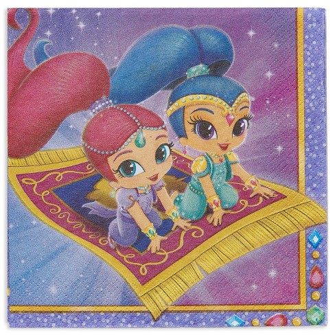 16ct Shimmer and Shine Lunch Napkins - image 1 of 3