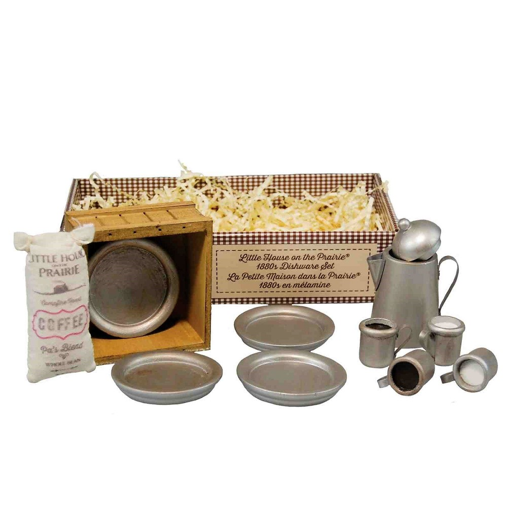 The Queen 39 S Treasures Little House On The Prairie 18 34 Doll Accessory Dishware Set