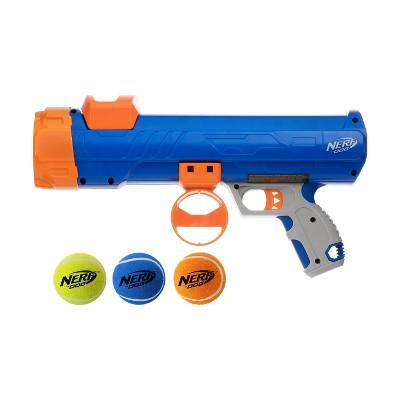 "NERF 12"" Blaster & 2"" Squeak Balls Dog Toys"