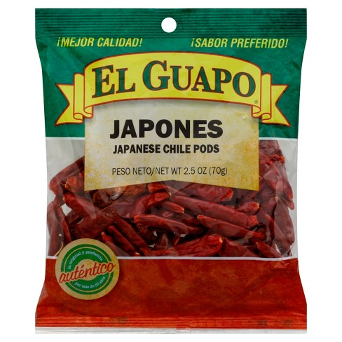 El Guapo Chile Japones Bag Whole - 3oz - image 1 of 1