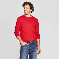 Men's Regular Fit Long Sleeve Lyndale T-Shirt - Goodfellow & Co™
