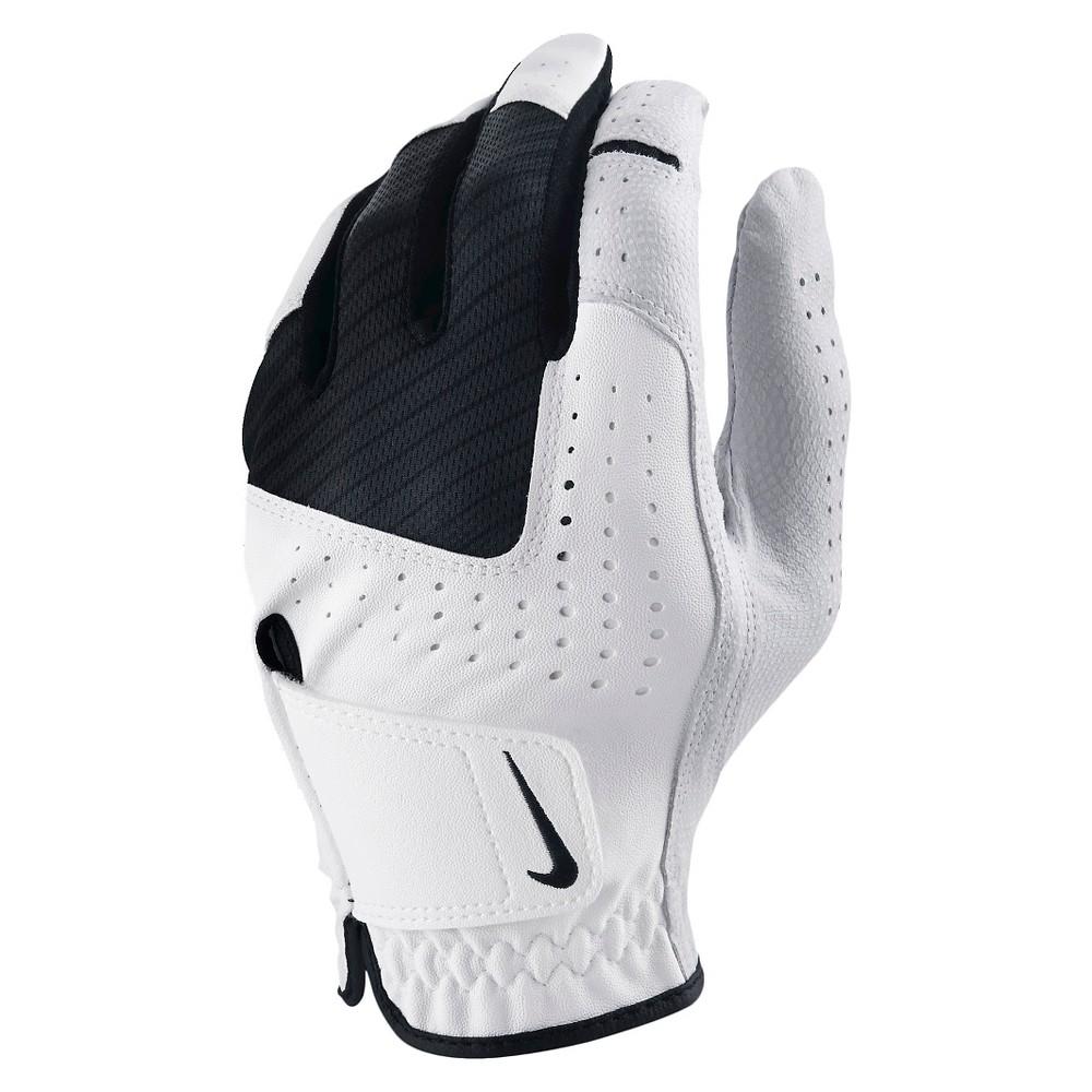 Nike Golf Glove, White, Sports Gloves Nike Golf Glove Color: White.