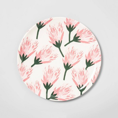 14  Melamine Tropical Floral Serving Tray Pink - Opalhouse™