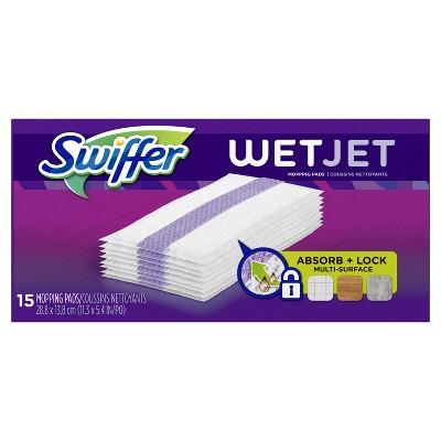 Swiffer Wet Jet Hardwood Multi Surface Floor Cleaner - 15ct