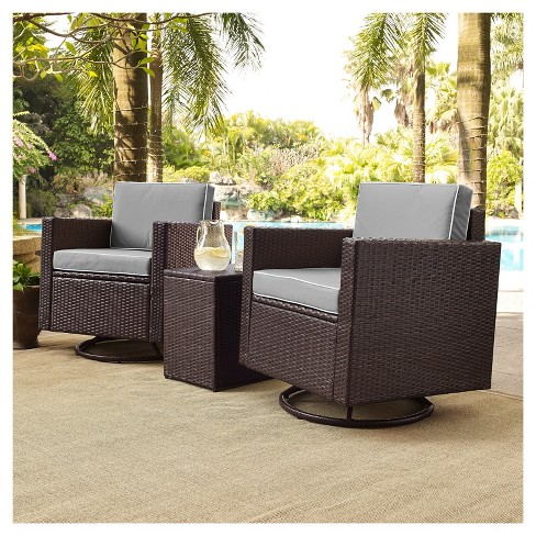 Palm Harbor 3pc All Weather Wicker