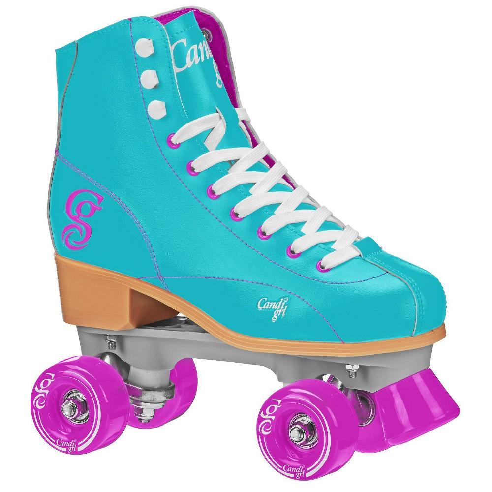 Roller Derby Candi Girl Sabina Women's Roller Skate - Mint - 06, Women's, Pink Blue