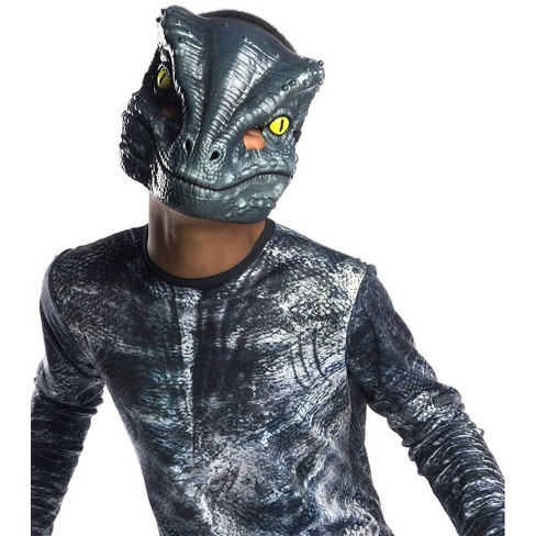 Rubie's Jurassic World: Fallen Kingdom Velociraptor Blue 1/2 Mask Child Costume Accessory - image 1 of 1