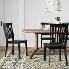 2pk Holden Slat Back Dining Chairs - Threshold™ - image 2 of 4