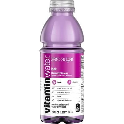 vitaminwater zero Blueberry Hibiscus - 20 fl oz Bottle