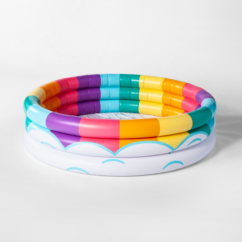 Rainbow Cloud Lil' Pool - Sun Squad, Multi-Colored