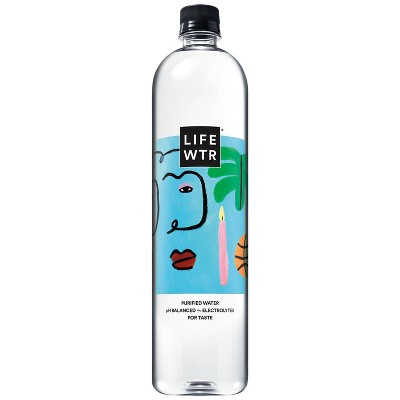 LIFEWTR  Premium Purified Water - 1 L Bottle