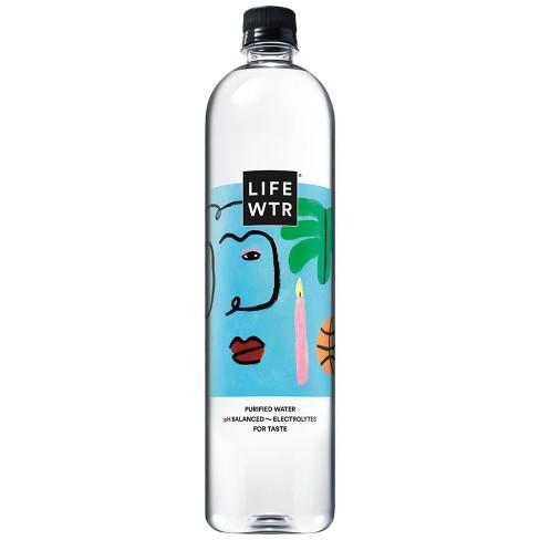LIFEWTR  Premium Purified Water - 1 L Bottle - image 1 of 4
