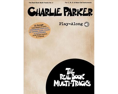 Charlie Parker Play-along (Paperback) - image 1 of 1