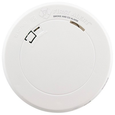 First Alert PRC710 Slim Smoke & Carbon Monoxide Detector with Photelectric Sensor
